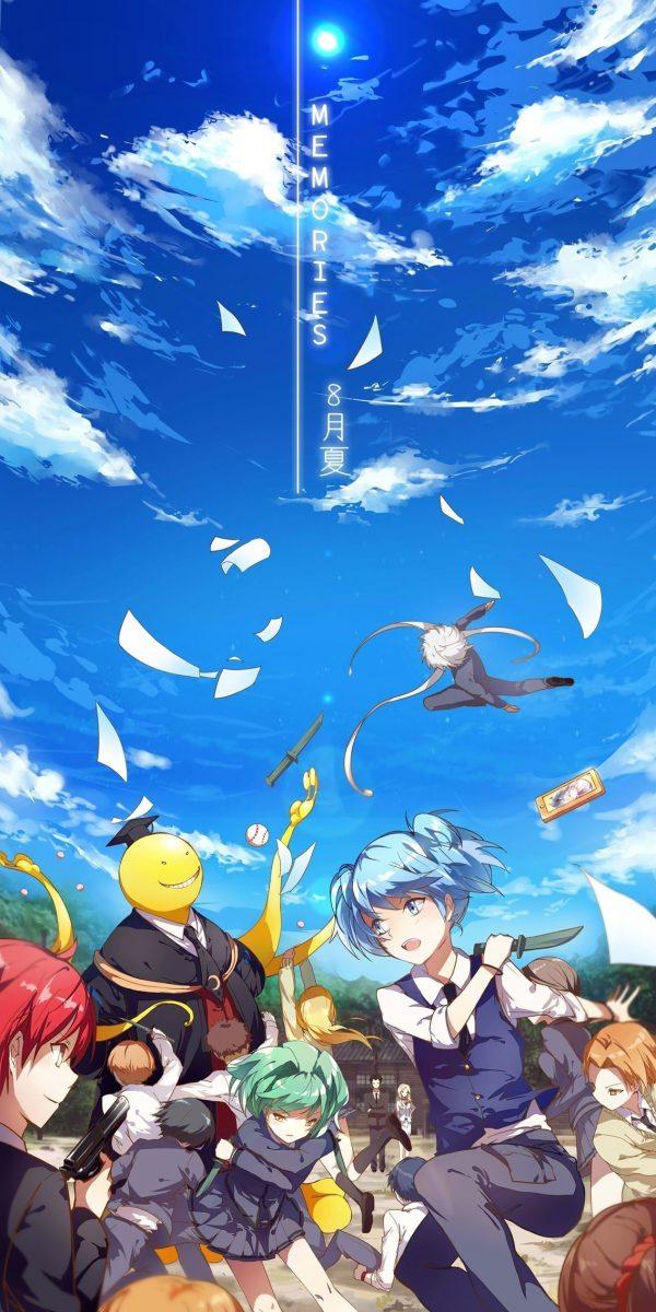 1135X2270 Arrière Plan Ansatsu kyōshitsu Poster Manga en 1080p pour Téléphone à Télécharger ID : 713257659711359590