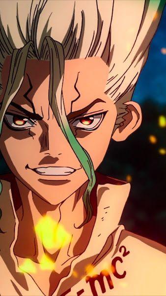 338X600 Arrière Plan DR Stone Anime en 4K pour PC à Télécharger ID : 643100021774512740
