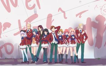 350X219 Arrière Plan Classroom of the Elite Poster Manga en Ultra HD pour Ordi à Télécharger ID : 808114726875233503