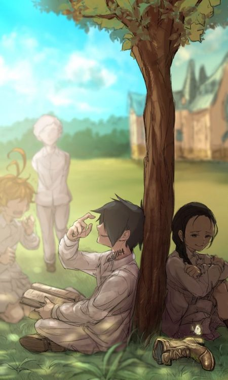 564X940 Photo The Promised Neverland Anime en HD pour Phone 100% Gratuit ID : 820077413375858844