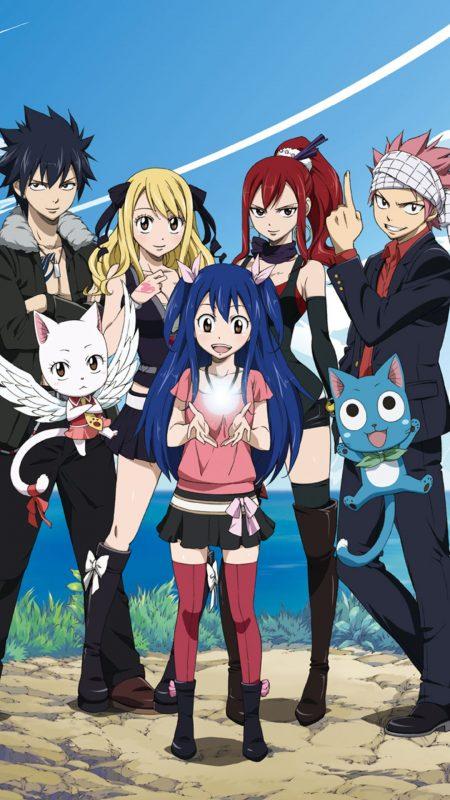 1080X1920 Arrière Plan Fairy Tail Poster Manga en 8K pour Ordi à Télécharger Gratuitement ID : 851602610775298744