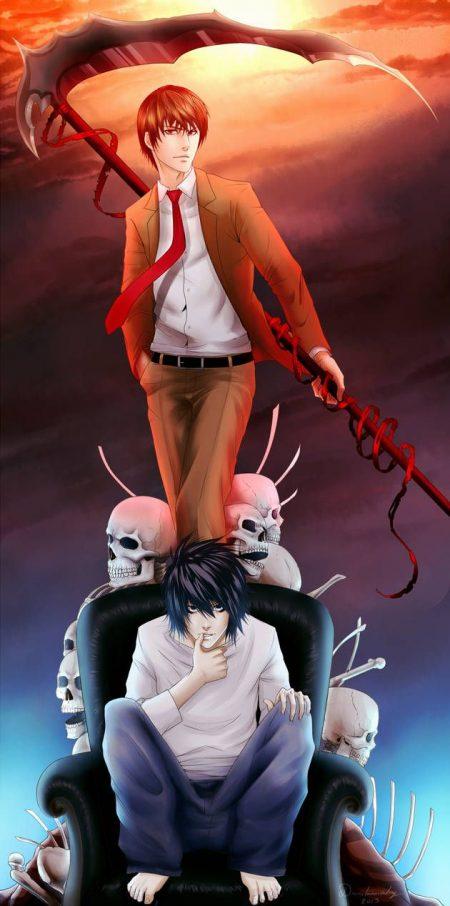 630X1268 Fond Ecran Death Note Anime en HD pour Téléphone 100% Gratuit ID : 705587466600901483