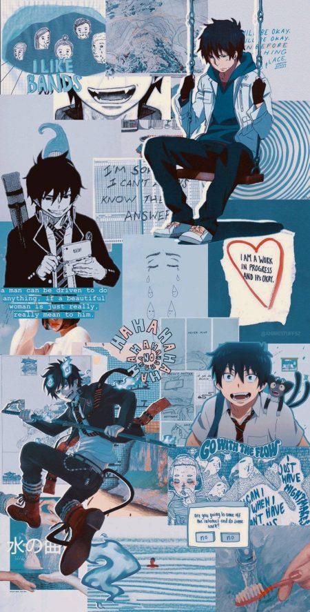 1038X2047 Wallpapers Ao no Ekusoshisuto Poster Manga en 4K pour PC à Télécharger ID : 780600547901160960