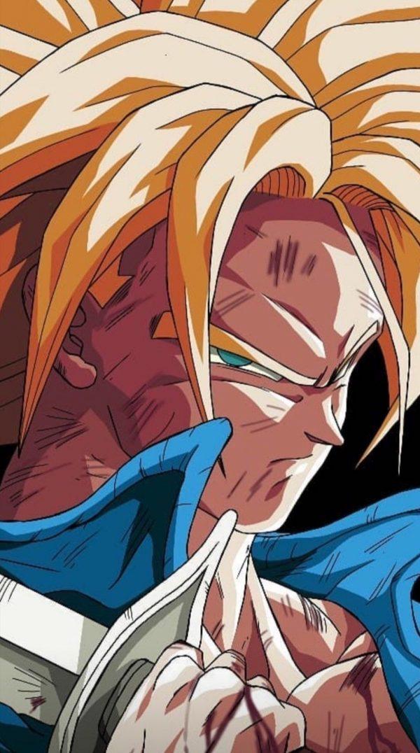Trunks Fils de Vegeta En Mode Super Saiyan