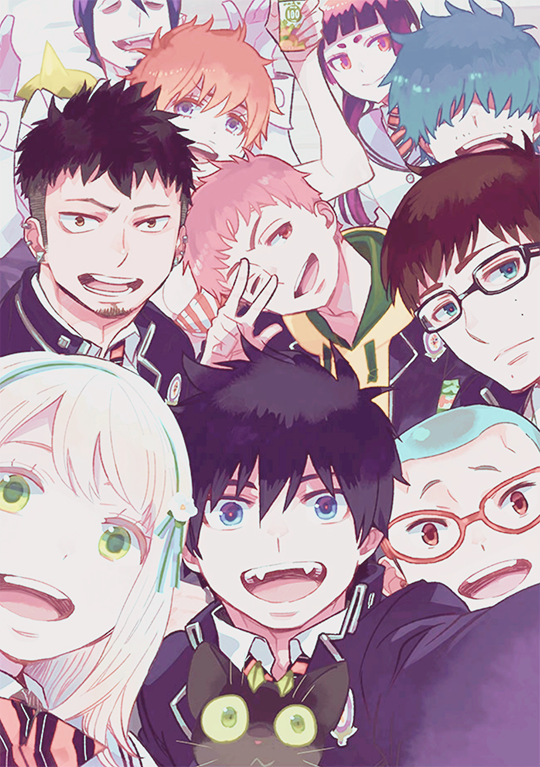 540X767 Photo Blue Exorcist Dessin Animé en Ultra HD pour Ordinateur Free Download ID : 857865429001909170