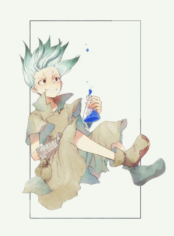 732X991 Arrière Plan DR Stone Poster Manga en 8K pour Phone Gratuit ID : 728035096000616499