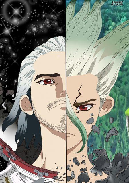 1240X1754 Fond Ecran DR Stone Poster Manga en 4K pour Mobile à Télécharger Gratuitement ID : 614037730428071092