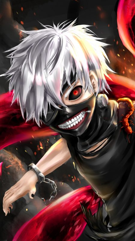 1440X2560 Wallpaper Tokyo Ghoul Poster Manga en 8K pour Ordi Free Download ID : 627407791818924142