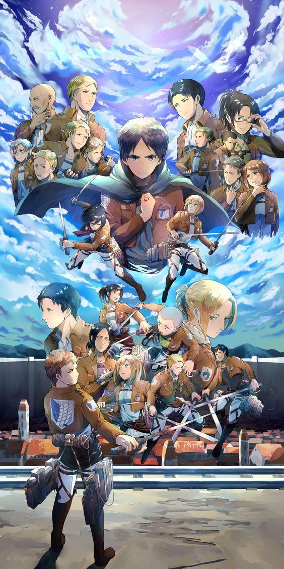 564X1128 Wallpapers SnK Manga en Ultra HD pour Smartphone à Télécharger ID : 628815166709325774