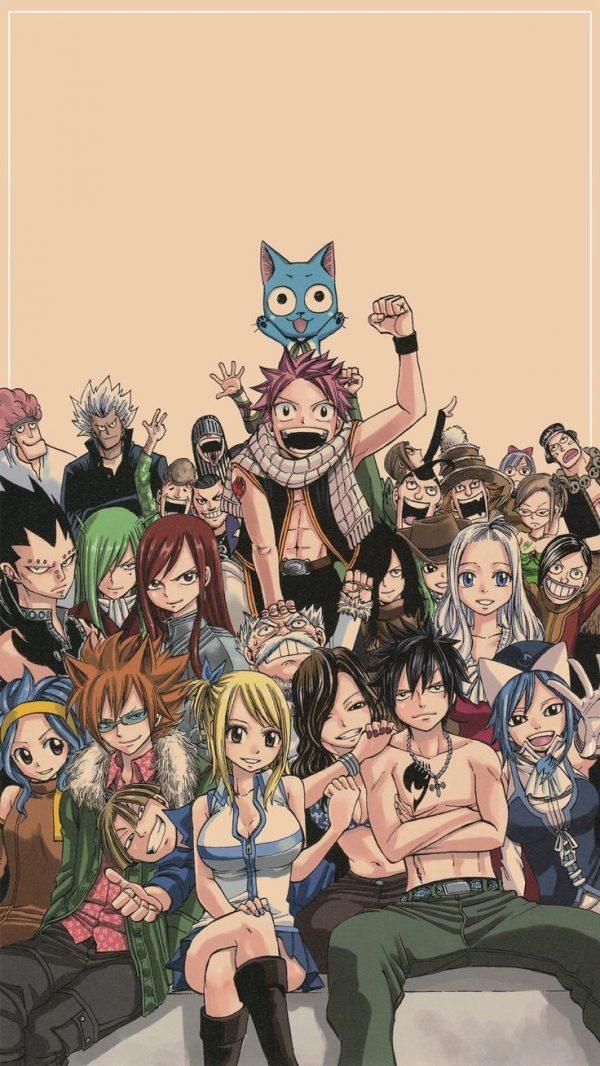 736X1308 Wallpaper Fairy Tail Poster Manga en 4K pour PC Free Download ID : 720505640374522569