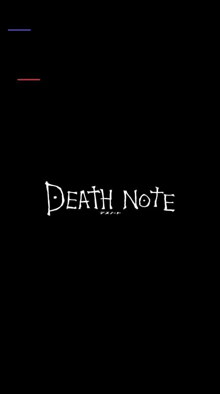 444X794 Arrière Plan Death Note Dessin Animé en Ultra HD pour Phone à Télécharger ID : 662732901402663584