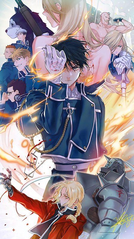 900X1600 Fond Ecran Fullmetal Alchemist Poster Manga en Ultra HD pour Smartphone Gratuit ID : 66357794496388760