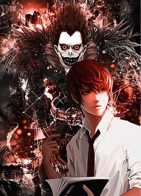 1000X1388 Image Death Note Dessin Animé en Ultra HD pour Ordinateur Free Download ID : 743023638506905231