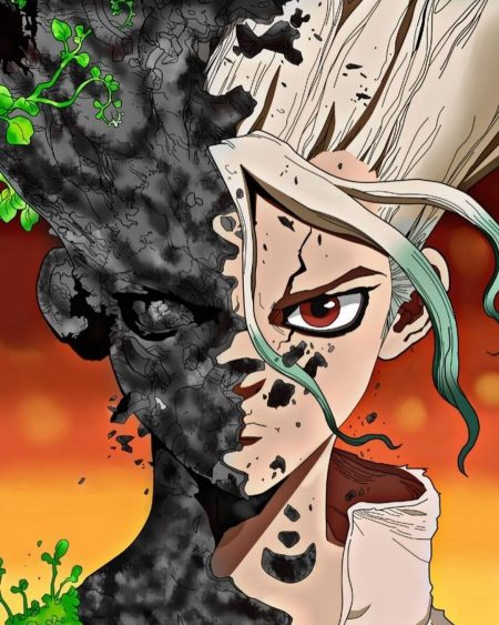 1080X1350 Photo DR Stone Anime en Ultra HD pour Mobile à Télécharger ID : 560698222359118570