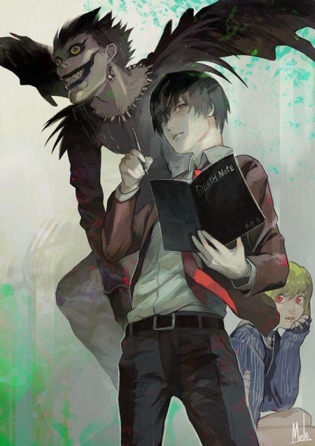 1280X1811 Photo Death Note Manga en Ultra HD pour Téléphone à Télécharger Gratuitement ID : 740279257481863346