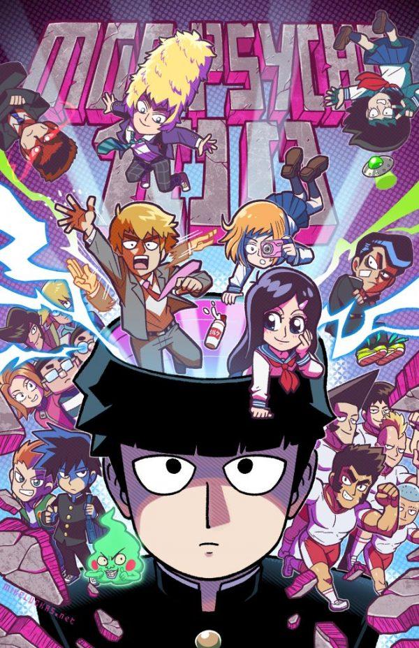 660X1020 Image Mob Psycho 100 Poster Manga en 4K pour Ordi à Télécharger ID : 808677676822789438