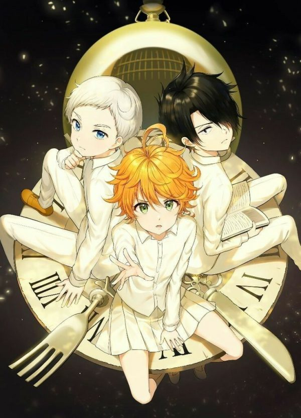 736X1021 Fond Ecran The Promised Neverland Anime en HD pour Smartphone 100% Gratuit ID : 468092955022492627