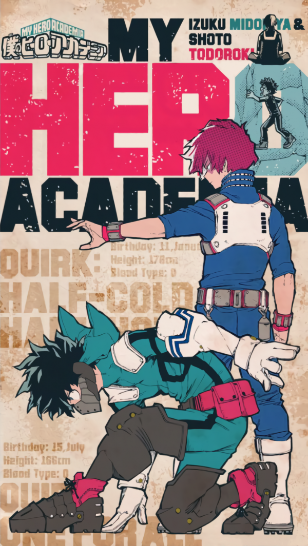 916X1626 Fond Ecran My Hero Academia Anime en HD pour Ordi Gratuit ID : 815362707527281465