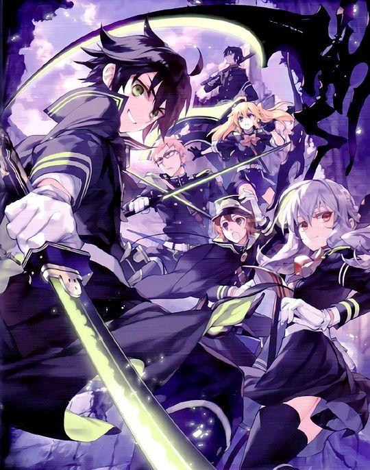 540X686 Arrière Plan Seraph Of The End Manga en 8K pour Phone 100% Gratuit ID : 655625658231327691