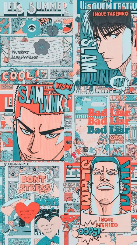 1075X1912 Fond Ecran Slam Dunk Poster Manga en Ultra HD pour Smartphone 100% Gratuit ID : 494621971577579629