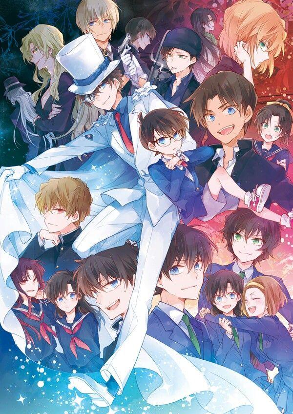 600X848 Arrière Plan Détective Conan Manga en HD pour Téléphone à Télécharger ID : 726486983615133830