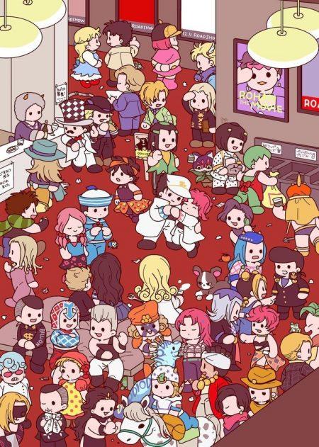 750X1051 Wallpaper JoJo's Bizarre Adventure Anime en 8K pour Ordi à Télécharger Gratuitement ID : 222435669086077461 | Fond-Ecran-Manga.fr