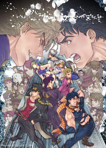858X1200 Wallpaper JoJo's Bizarre Adventure Anime en 8K pour Ordi à Télécharger ID : 204421270574841991 | Fond-Ecran-Manga.fr