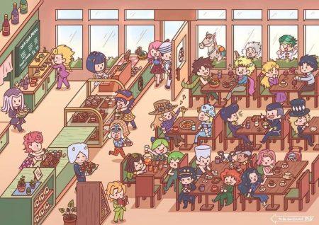 960X679 Arrière Plan JoJo's Bizarre Adventure Poster Manga en 8K pour PC Free Download ID : 374572894011541452 | Fond-Ecran-Manga.fr
